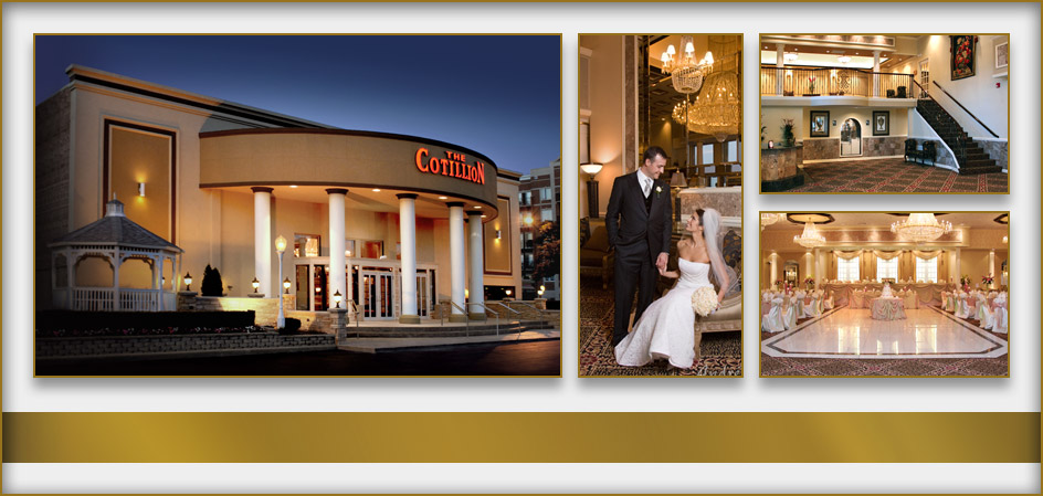 Selected photographs of The Cotillion, our building and banquet events